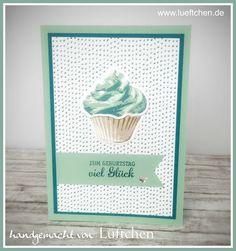 Lüftchen Stempelstudio Bergedorf, cupcake für dich, sweet cupcake, Stampin Up! , SU!