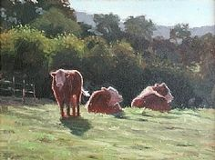 Murphys Morning by Kathleen Dunphy Oil ~  x