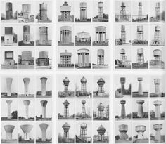Bernd & Hilla Becher - Typology of Water Towers