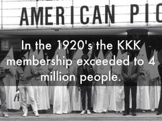 an overview of the kkk or ku klux klan an anti black organization in the united states The ku klux klan is a racist, anti-semitic movement  right-wing hate groups that exist in the united states, the klan remains  overview kkk rebound layout 2.