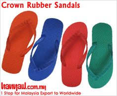 Visit- http://www.hanyaw.com.my/Products/Crown_Rubber_Sandals_CH-H2.html