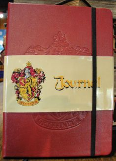 Wizarding World of Harry Potter Red Gryffindor Journal