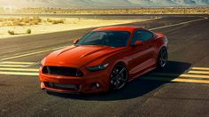 2015 mustang competition orange