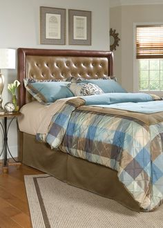 Beds, Queen Upholstered Headboard, Dining Room Table Sets, Bedroom Furniture, Curio Cabinets and Solid Wood Furniture - Model - Home Gallery Stores Furniture Tufted Bed, Tufted Headboards, Gold Bedding Sets, Full Size Headboard, Buy Bed, Solid Wood Furniture, Bed Design, Bedroom Furniture