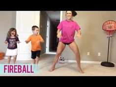 Pitbull - Fireball (Dance Fitness with Jessica) - YouTube