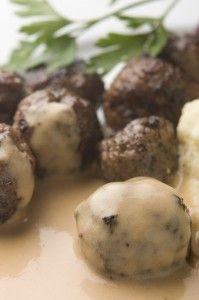 Paleo Swedish Meatballs - Italian Recipes | Paleo Recipes | Cindy's Table | Cindy Barbieri Anschutz