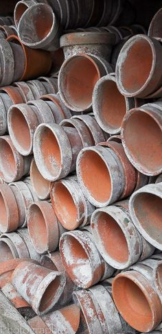 ∷ Variations on a Theme ∷ Collection of clay pots