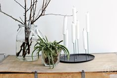 ENOstudio is a french editor of useful and elegant everyday furniture and design objects, signed by designers and based in Paris. Decor, Interior, Candle Pins, Candles, Home Decor, Vase, Glass Vase, Objects Design, Glass