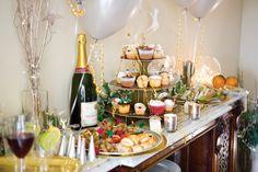 party menu ideas buffet table decorating ideas