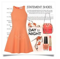 """Inspiration look Day to night : """"Day to Night  Statement Shoes"""" by conch-lady  liked on Polyvore fe"""