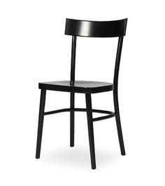 Vincent Sheppard Birgit-ruokapöydän tuoli, musta