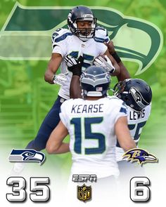 Four in a row for the Seahawks. Look out.  12/13/2015