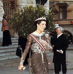 April 30, 1996 50Th Anniversary Of King Carl Gustav Of Sweden In Stockholm, Sweden On April 30, 1996. People: Caroline of Hanover