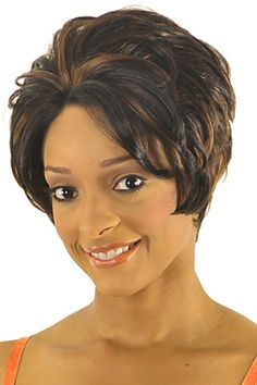 New Born Free Synthetic Hair Semi Lace Front Wig Magic Lace Pretty 28 - Hairsisters.com