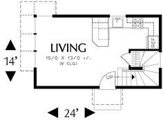 728 sq ft - Floor 1