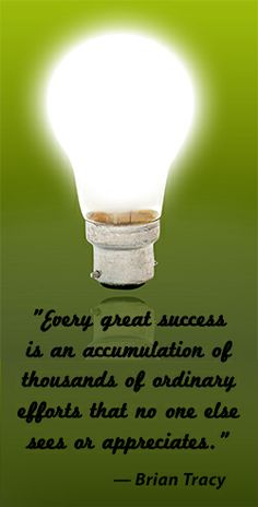 Success business quote by Brian Tracy.  **These Brian Tracy programs will change your life.