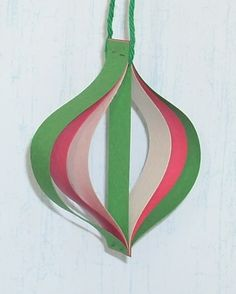 Paper Strip Ornament