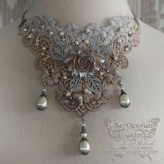 FIRST FROST Victorian lace bridal wedding by TheVictorianGarden, $62.00