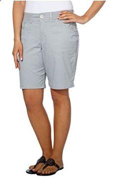 NEW Gloria Vanderbilt Women/'s Kristine Stretch Casual Knit Waist Shorts VARIETY
