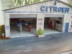 Garage esso depreux au 1 43 garage moderne pinterest for Garage citroen sevrier 74