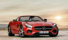 Mary Callaghan's car: Mercedes-AMG GT roadster
