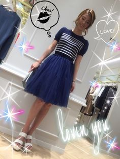 AndCoutre ルミネ有楽町店限定ワンピース⤴︎ Tulle, Couture, Skirts, Fashion, Moda, La Mode, Tutu, Skirt