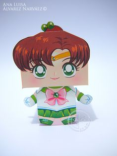 Sailor Jupiter Printable Paper Craft PDF