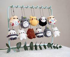 Ravelry amiballs 4 in 1 pattern by anita suria crochet amigurumi bunny toy free patterns instructions Crochet Kawaii, Crochet Diy, Crochet Crafts, Yarn Crafts, Crochet Projects, Crochet Animal Amigurumi, Crochet Animal Patterns, Stuffed Animal Patterns, Crochet Dolls