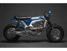 Honda '77 CT117 Dax by DavmoMoto