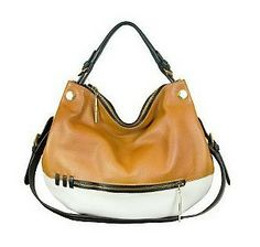 orYANY Olivia Leather Convertible Shoulder Bag with Strap from QVC.  Get your rebate from RebateGiant.