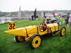 1911 Marmon Wasp: winner of the 1st Indianapolis w/Ray Harroun as driver.