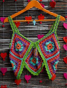 Feito à mão em crochet  43