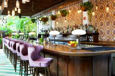 Cecconi's Miami Beach - like the SOHO House, have a great HH from 4-7pm everything is $4-$7