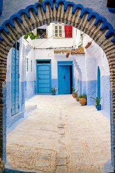 Gates of Chaouen (Morocco)