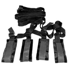 The Bed Bondage Restraint Kit from Sex & Mischief is an ultra user friendly restraint kit that sets up in seconds.