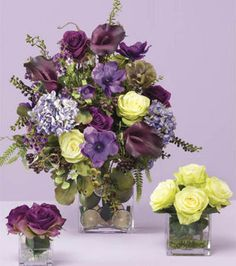 Floral & Fruit Centerpieces