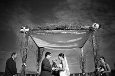 Jewish Wedding Huppah - mazelmoments.com