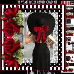 The Velvet Rose Beauty Card Front Kit