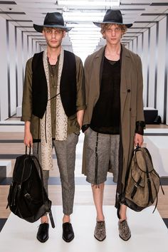 The Kooplespresented itsSpring/Summer 2017collection during Paris Fashion Week.