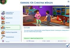 Lana CC Finds - Career Daycare by MSQ Sims 4 The daycare career is...