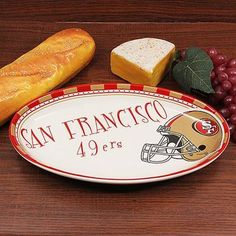 San Francisco 49ers Game Day Serving Platter