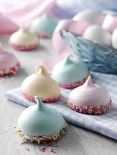 recipe-Mini Confetti Meringues