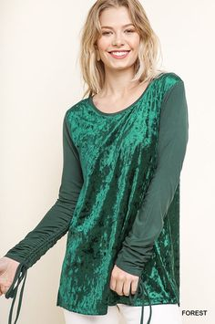 Women Ladies Velvet Crushed Velour Batwing Baggy Oversized Hi Lo Dress Top