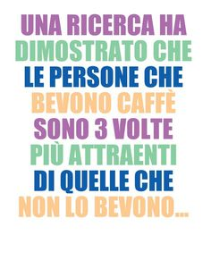 Siate bellissimi con #arnoldcoffee