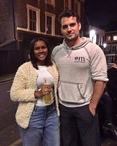 """""""Like that one song called Starstruck from Lady Gaga ❤️ Oh, thank you liquid courage! : @rjessalt  #DreamsDoComeTrue #HenryCavill #TheTudors…"""""""