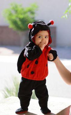 Baby Ladybug Costume #Halloween