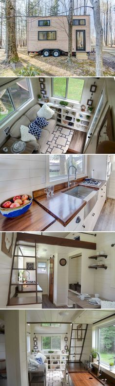 Stunning Tiny House on Wheels that You Must Have Right Now (33 Ideas)