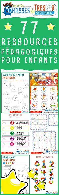 Educational resources to learn by having fun. Resources to print for children and teachers. Education Positive, Kids Education, Montessori Activities, Educational Activities, French Teacher, Teacher Hacks, Business For Kids, Primary School, Kids And Parenting
