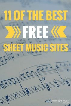 11 of the best free sheet music sites for music teachers Midnight Music Technology Training Violin Sheet Music, Music Guitar, Piano Music, Music Wall, Guitar Chords, Ukulele, Site Music, Music Sites, Piano Lessons