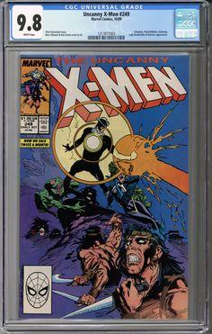 Uncanny X-Men #249 CGC 9.8